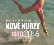 Nové kurzy LÉTO 2016